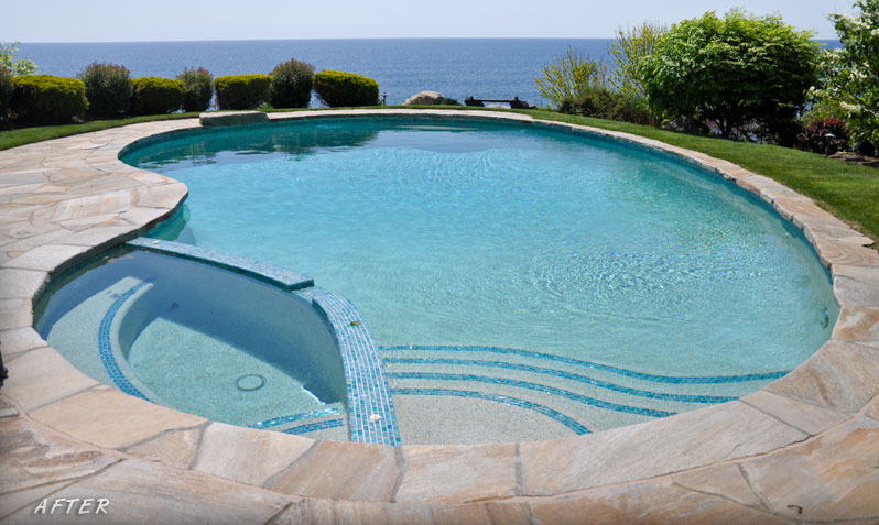 Swimming Pool Renovation - After