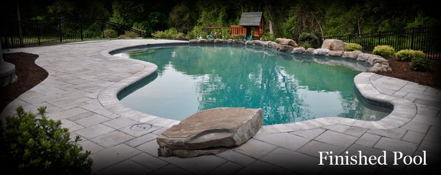 American Pool Service - Finished Swimming Pool