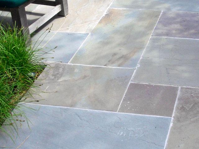 Stone floor tile