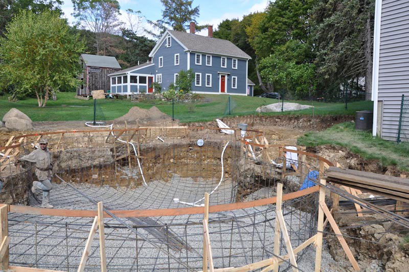 Plumbing Metal Pools : American pool service residential new construction