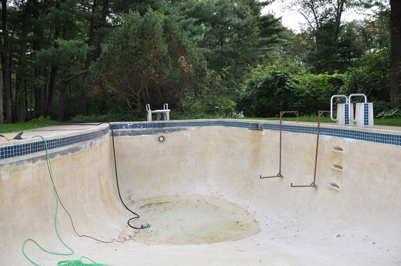 American Pool Service Residential Pool Renovation
