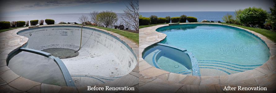 American Pool Service Residential Pool Renovation
